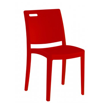 CHAISE CLIP GR Rouge Architectural