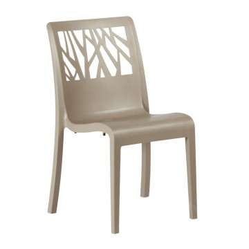 CHAISE VEGETAL Taupe