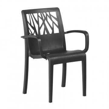Fauteuil VEGETAL Anthracite