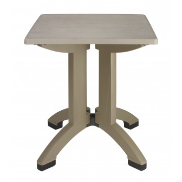 Table Palma 70x70 taupe