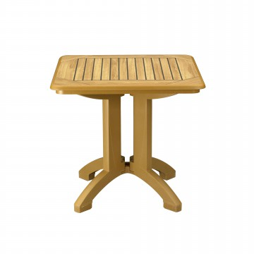 TABLE AQUABA 80X80 Rexform