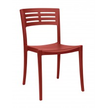 CHAISE URBAN rouge Bossa Nova