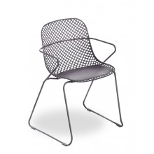 Chaise Ramatuelle 73' Gris pavement