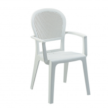 FAUTEUIL MADRAS Blanc