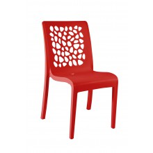 CHAISE tulipe rouge architectural