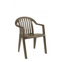 FAUTEUIL MIAMI  bas taupe
