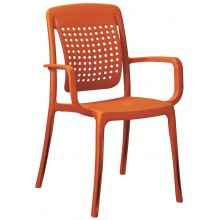 Fauteuil FACTORY Orange