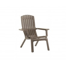 FAUTEUIL Wesport - Adirondack taupe