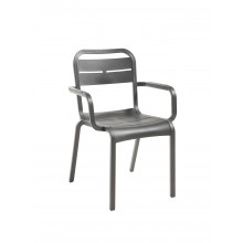 Fauteuil Cannes anthracite